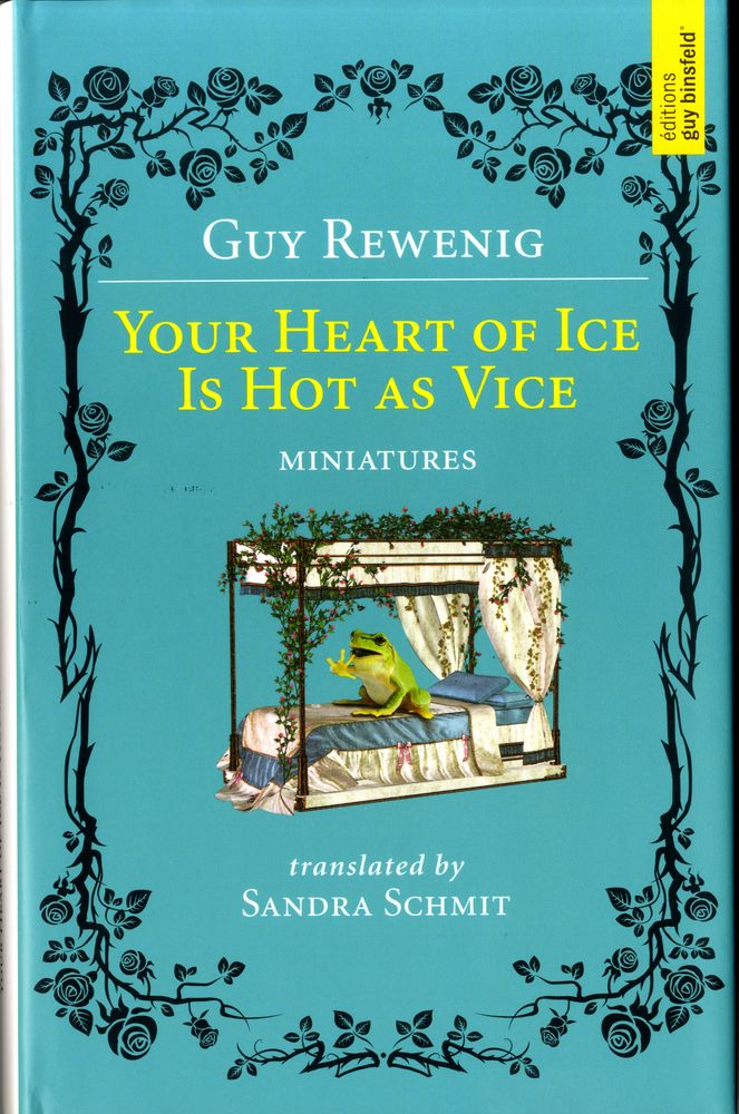 The first English translation of Guy Rewenig's works,